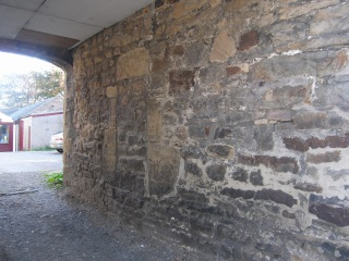 The-Massive-Stone-of-a-Bastle-House-Wall-in-Haltwhistle-Northumberland